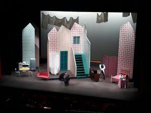"""Una scena dell'opera """"Il Barbiere di Siviglia"""""""