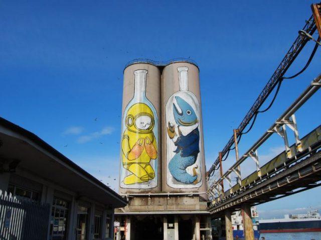 Porto di Ancona: abbattuti altri cinque silos