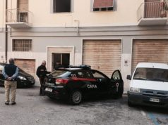 I carabinieri in via Vasari