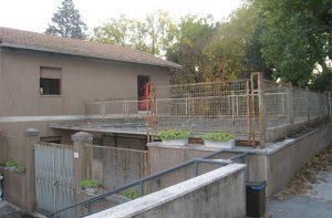 l'ex casa del custode Opafs in viale IV Novembre a Senigallia