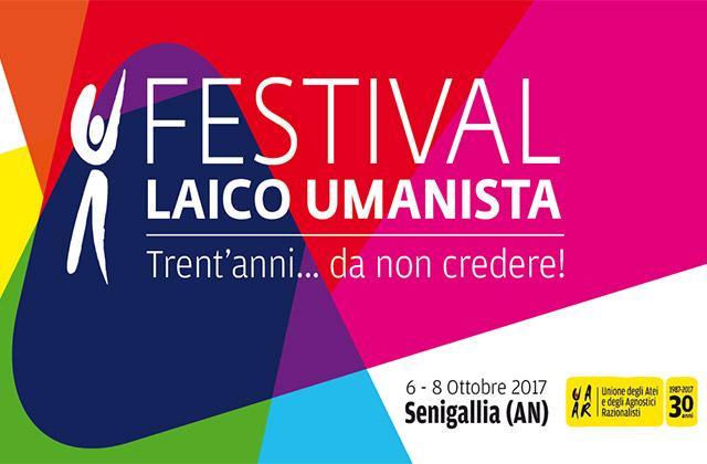 La locandina del festival laico umanista promosso a Senigallia dall'UAAR