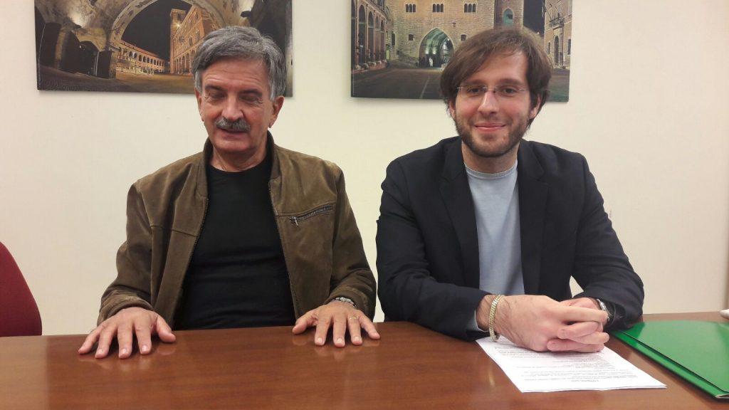 Gianfranco Leonelli e Andrea Giombi