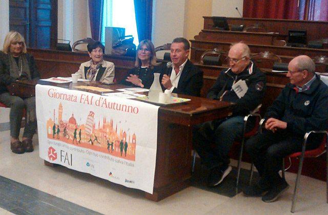 La presentazione della giornata FAI d'autunno 2017 a Senigallia