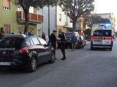 Il luogo dell'incidente a Cesanella di Senigallia