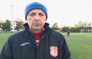 Sauro Trillini, allenatore del Fabriano Cerreto