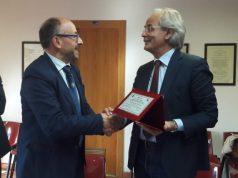 Da sin. il Rettore Unicam Claudio Pettinari e il Rettore Univpm Sauro Longhi