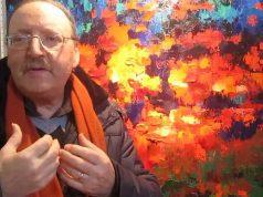 L'artista osimano Mario Mosca