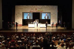 L'evento per cuochi Meet in Cucina al teatro La Fenice di Senigallia nel 2017