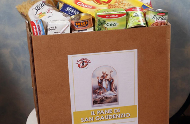 Il gesto di carità e solidarietà messo in campo dalla onlus Il Salvagente di Ostra: il pane di San Gaudenzio