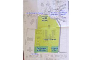 Il progetto dei parcheggi in via Cellini a Senigallia