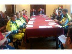 Riunione del comitato di Protezione civile a Senigallia