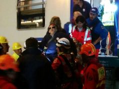 simulazione dei soccorsi in caso di incendio su un treno alla stazione di Senigallia