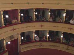 Uno scorcio del teatro di Chiaravalle
