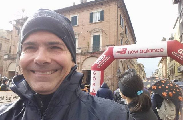 Andrea Binci alla Vallesina Marathon