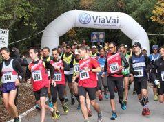 "La partenza della 2° corsa in montagna ""Sentieri del Conero"""