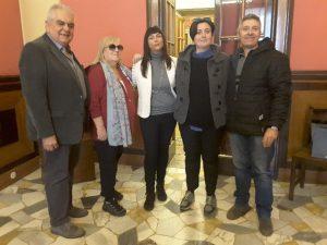 Sandro Zaffiri, Leda Venturini, Silvia Gregori, Laura Ginesi, Luigi Fiorentini