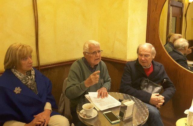 Rosa Meloni, Vittorio Massaccesi, Gabriele Fava del comitato