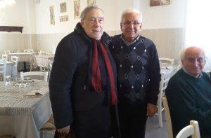 Armando Ginesi con Benito Motisi