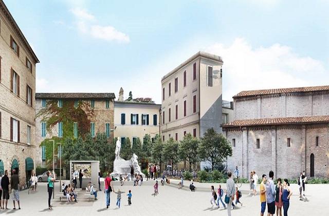 Jesi la nuova piazza pergolesi sta per diventare realt - Sogno casa fabriano ...