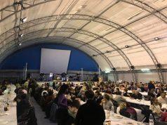La grande partecipazione all'evento di solidarietà a Loreto