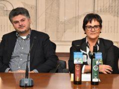 Da sin. Luca di Maio e la vice presidente della Regione Anna Casini