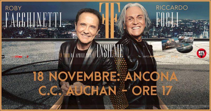 """Facchinetti e Fogli di nuovo """"Insieme"""" con un album. L'instore tour farà tappa anche ad Ancona"""