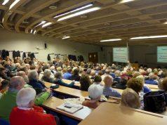 Una delle conferenze promosse ad Ancona dalla Fondazione Claudio Venanzi