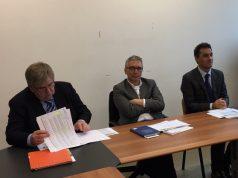 Un momento della conferenza stampa di presentazione dei dati sul turismo nelle Marche