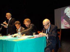 L'incontro su Andrea Vici svoltosi al teatro Misa di Arcevia
