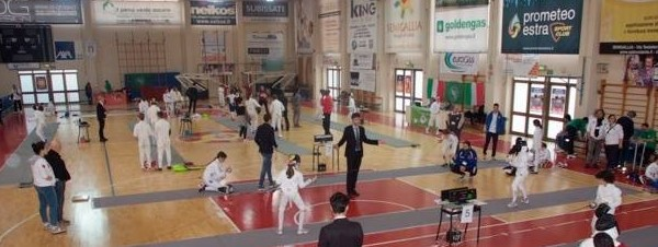Scherma al Palasport di Senigallia - foto Club Scherma Montignano