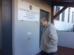 Simone Santoleri a Giulianova per il terzo controllo dei Ris all'auto