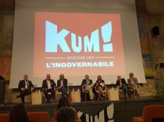 Da sinistra Renato Bisogno, Michele Caporossi, Sauro Longhi, Massimo Corri, Rossana Berardi, Fabrizio Volpini e Marcello D' Errico