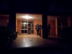 L'appartamento in cui è stato ritrovato il corpo senza vita della donna
