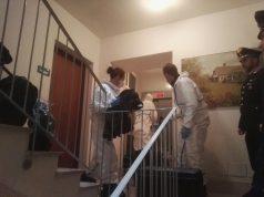 I Ris nel sopralluogo della casa di Ancona della pittrice
