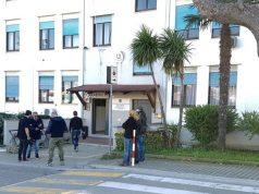 La caserma dei carabinieri di Giulianova