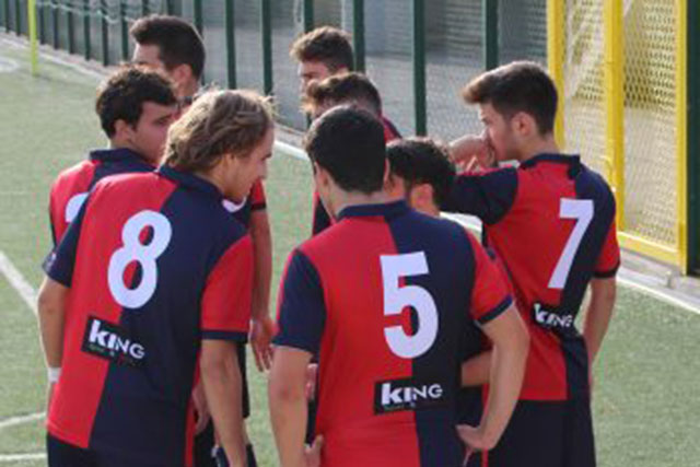 I ragazzi dell' F.C. Vigor