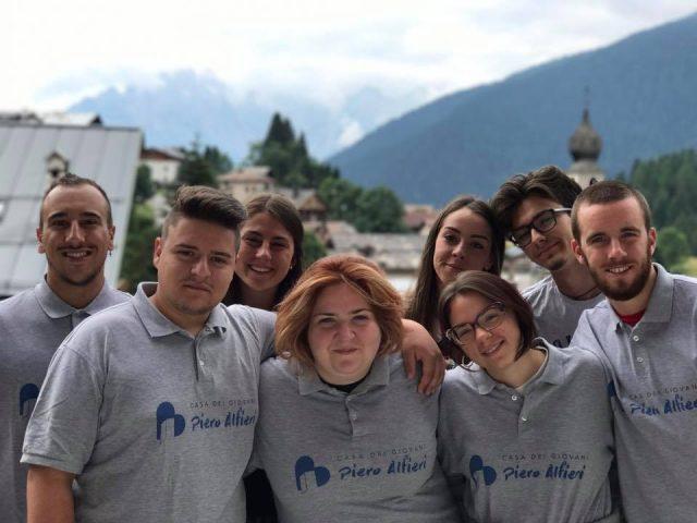 """I giovani dell'Associazione """"Casa dei giovani Piero Alfieri"""""""