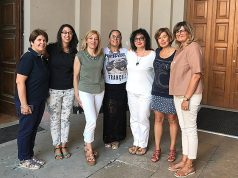 Il comitato esecutivo del Consiglio delle donne di Senigallia