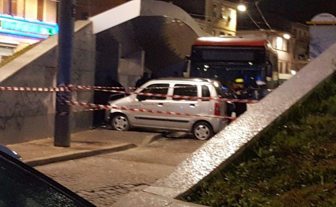 L'incidente in piazza Ugo Bassi