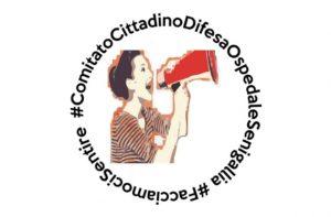 logo del comitato cittadino a difesa dell'ospedale di Senigallia