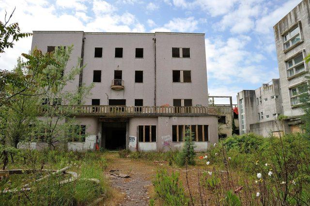 L'ex ospedale Muzio Gallo abbandonato