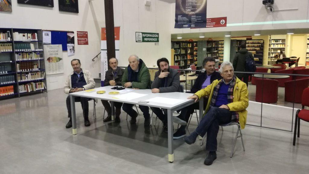 I rappresentanti delle opposizioni di Fabriano