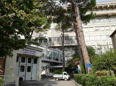 Uno degli edifici dell'ospedale di Senigallia