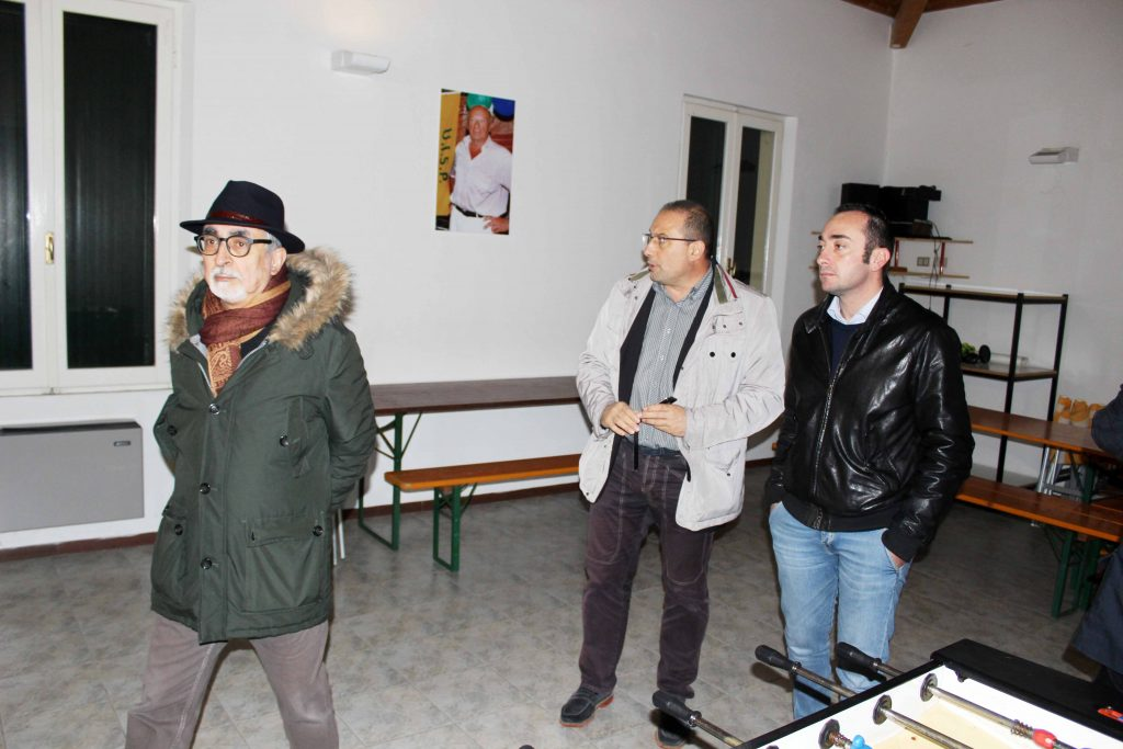 Da sinistra: Luigi Rebecchini - Roberto Paradisi - Alan Canestrari