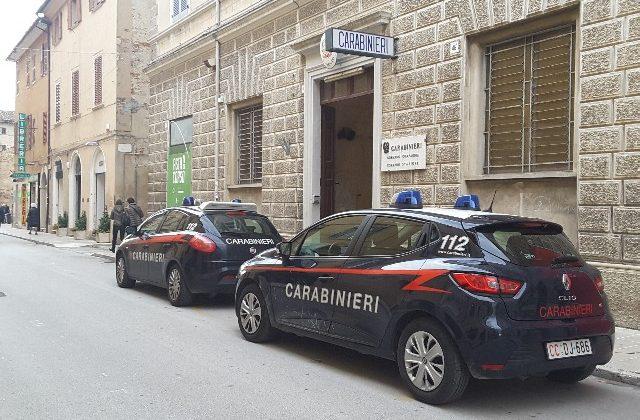 Il comando dei carabinieri di Jesi