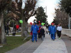 """La """"Camminata della solidarietà"""" dello scorso anno"""