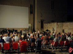Il cinema all'aperto a Osimo