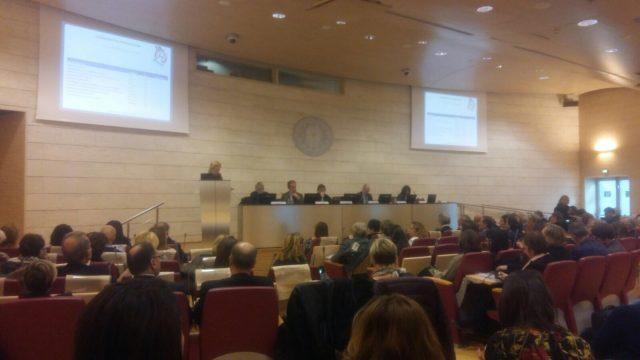 La cerimonia di premiazione a Roma presso l'Auditorium Biagio D'Alba