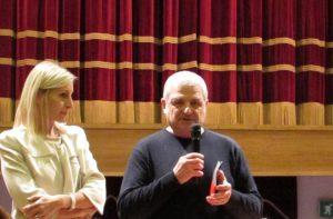 Giorgia Fabri e Paolo Pirani