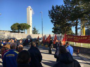 sciopero pensioni Fiom Cgil new holland jesi